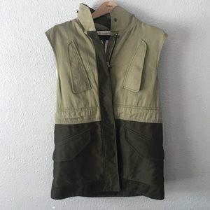 Rag and Bone 2 Tone Cargo Military Vest